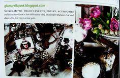 Glamarella Junk in Romantics Home Magazine- Spring 2012