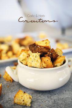 Garlic and Herb Croutons on kleinworthco.com