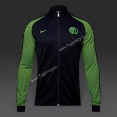2016-17 Inter Milan Black Thailand Soccer Jacket 2