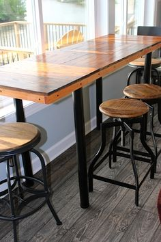 The Best Happy Customers Images On Pinterest Bureaus Concrete - Custom counter height table