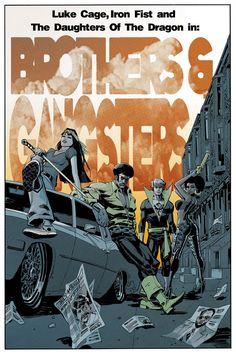 Heroes for Hire by Dan Panosian #PowerMan #IronFist