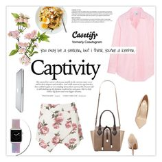 """""""Casetify (Read desc)"""" by leniastuti ❤ liked on Polyvore featuring Casetify, Iris & Ink and Shoe Republic LA"""