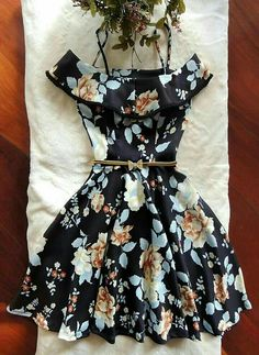 Fashion Spring Casual Simple Belts Super Ideas Source by spring Casual Dresses Teen Girl Fashion, Teen Fashion Outfits, Mode Outfits, Dress Outfits, Casual Dresses, Short Dresses, Casual Outfits, Girl Outfits, Fashion Dresses