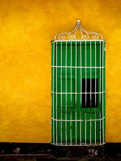 cuba  There is always a way in or out of the cage, which side of the door do you dream about?