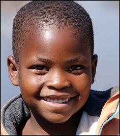 Wonderful smile. Botswana.  By Pierre Heimann.