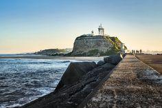 Nobbys Beach Newcastle Nsw, Statue Of Liberty, Australia, Beach, Travel, Statue Of Liberty Facts, Viajes, The Beach, Statue Of Libery