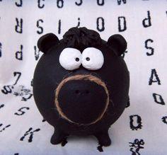 Chalk Board Piggy Bank