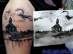 Katt's Church by EvilLittleBlue, via Flickr