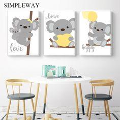 Visit the post for more. Koala Nursery, Animal Nursery, Nursery Boy, Safari Nursery, Kids Bedroom, Bedroom Decor, Kids Rooms, Baby Koala, Koala Bears