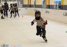 Synthetic Ice hockey Synthetic Ice Rink, Ice Hockey, Ice Skating, Skate, Basketball Court, Sports, Hs Sports, Skating, Sport