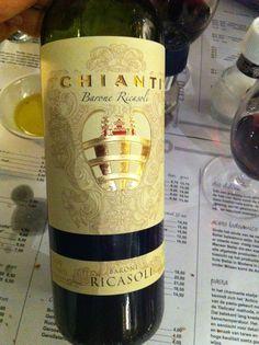 Decent Chianti. Drank at Mazzo