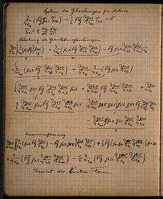 """feezix: """" Pages from Albert Einstein's notebook """" I want to wad them up and eat them, and absorb every genius nutrient into my own self."""
