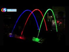 Jumping Jets Fountain Nozzle are developed from Glazy Water Column Fountain which can cut the arc segment by segment. By a short actuation, the glazy water s. Swimming Pools Backyard, Dream Garden, Water Features, Fountain, Neon Signs, Lights, Led, Fun Stuff, Arch