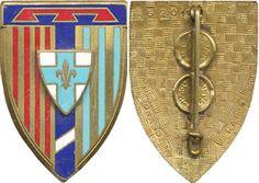 Cdt Régional Trans 9° Région MARSEILLE, émail, 2 boléros gravés Drago 2011(D155) | eBay