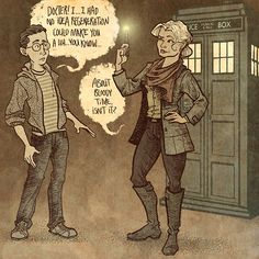Day 24. Someday, SOMEDAY… there should be a woman piloting the TARDIS.