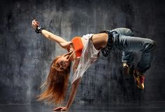 My old photo shoots of dancers on Behance