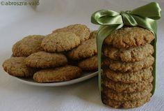 Kipróbált és bevált receptek ...: Zabpelyhes-diós keksz