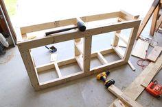 pedestal frame