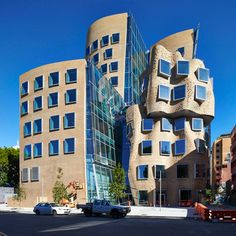 """Frank Gehry's Sydney business school completed ahead of 2015 opening 