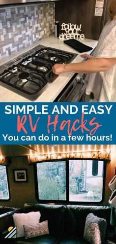 30 Amazing Rv Living Ideas And Tips Remodel. If you are looking for Rv Living Ideas And Tips Remodel, You come to the right place. Below are the Rv Living Ideas And Tips Remodel. This post about Rv L. Travel Trailer Living, Travel Trailer Camping, Travel Trailer Remodel, Rv Camping, Travel Trailer Storage, Travel Trailer Decor, Camping Kitchen, Camping Cooking, Campsite