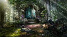 Otherworld - cathedral entrance by firedudewraith.deviantart.com on @deviantART Otherworld: Spring of Shadows