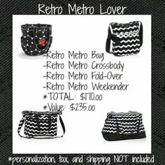 Choose your Retro-Metro bag for whatever occasion suits you. Thirty One Purses, Thirty One Totes, Thirty One Gifts, Thirty One 2014, Thirty One Fall, Thirty One Consultant, Independent Consultant, Thirty One Business, 31 Gifts