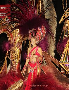 Cuarta Dama de Honor Carnaval de Santa Cruz de Tenerife 2009 by *Jack, via Flickr