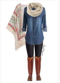 casual winter outfits for school - Google Search