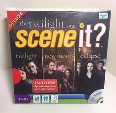 Deluxe Twilight Saga Scene It? DVD Game Twilight New Moon Eclipse *SEALED* #ScreenLife