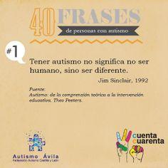 Tener autismo no significa no ser humano, sino ser diferente