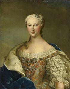 Marie Thérèse Raphaëlle of Spain, Dauphine of France (1726-1746),circa 1745.Daniel Klein (mid 18th century)