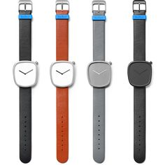 Pebble watch collection by Bulbul. Available at Dezeen Watch Store: www.dezeenwatchstore.com #watches