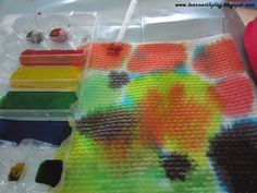 Learn with Play at Home: Colour, brilliant colour! Absorption and Patterns