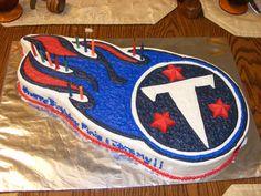 Titans Symbol Cake
