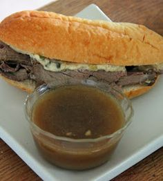 Jo and Sue: Not Your Ordinary French Dip Sandwich