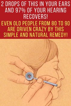 There are numerous treatments present on the market that all offer solution and relief, but here, we're going to suggest you a natural solution that will help you reduce your hearing problems in a very simple form. You'll notice the results very soon and you'll be amazed! Hearing loss | Hearing loss remedies | Hearing aids | remedies natural | natural remedies for pain | herbal remedies | natural alternatives #hearingloss #hearingaids #naturalcure