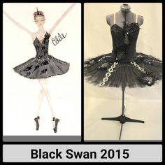 Black Swan - custom made by Brenda C Smith - Tutus en Tournant Designed by Nicole N. Conley