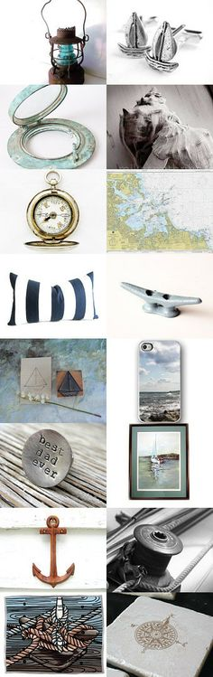 Set Sail... by Nancy S. on Etsy--Pinned with TreasuryPin.com