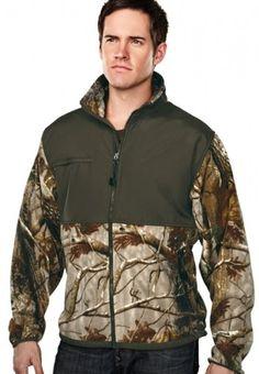 Big Mens Frontiersman Camo Fleece Jacket