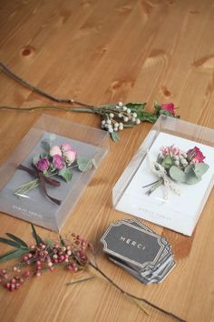 dried roses thank you mini bouquet (safe for traveling)