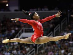 Simone Biles is on her way to Rio de Janeiro for the 2016 Olympics! Here are 17 things you need to know about the 19-year-old gymnast | essence.com