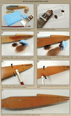 32002 1-32 LVG C.VI painting wood grain hints and tips.jpg (735×1198)