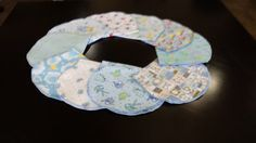 Set of 10 Baby Boy Burp Cloths by ohSEWcuddly on Etsy