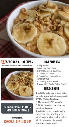Healthy Protein Snacks That Pack a Punch Healthy Protein Snacks, Best Protein, Healthy Food List, Protein Foods, Healthy Foods To Eat, Healthy Recipes, Protein Desserts, Fit Foods, Protein Power