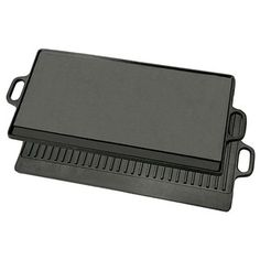 Bayou Classic Cast Iron Reversible Griddle | Overstock.com