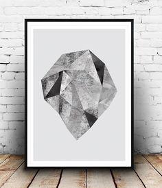 Nordic design, Monochrome print, Abstract watercolor, Minimalist art, Black and white, Geometric print, Watercolor print, Simple wall art