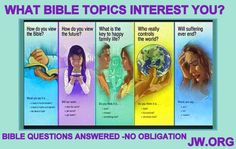 Visit jw.org for the Answers to life's questions.