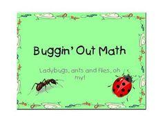 Buggin' Out Math - The Teacher Fairy - TeachersPayTeachers.com