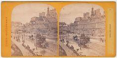 STEREOSCOPICA-STEREOVIEW-1880 C.A. HOTEL DE VILLE PARIS.-ST12