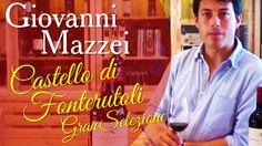 Giovanni Mazzei parla di Castello di Fonterutoli Chianti Classico Gran Selezione. @marchesimazzei #mazzei #fonterutoli #tuscany #wine
